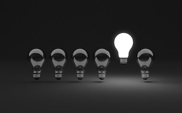 Six light bulbs